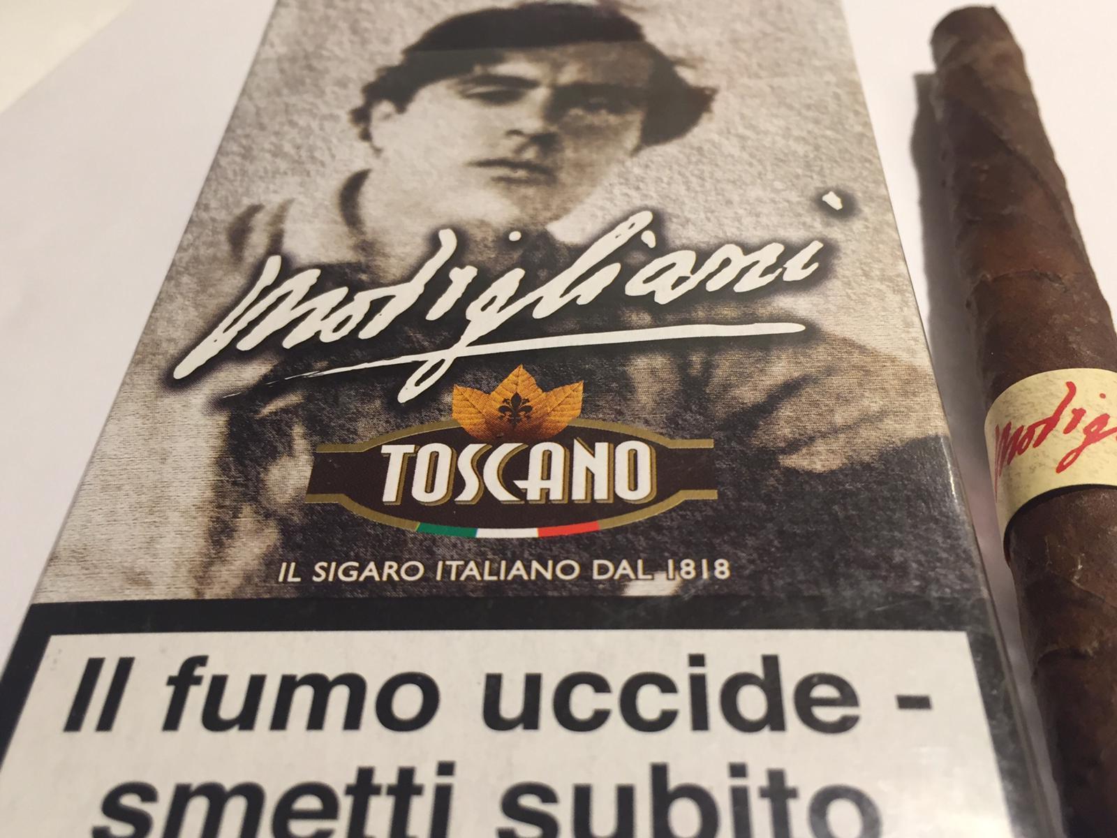 MODIGLIANI, L'AROMA FRUTTATO DEL SIGARO TOSCANO
