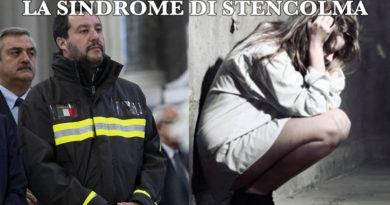 LA SINDROME DI STENCOLMA. Fenomenologia del DIO SOCIAL SALVINI.